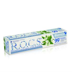 Натуральная зубная паста R.O.C.S. Bionica Отбеливающая