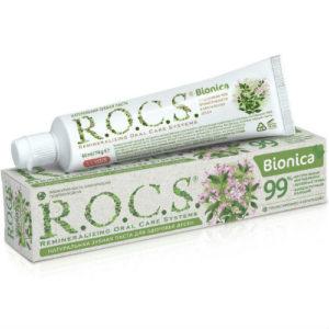 Натуральная зубная паста R.O.C.S. Bionica