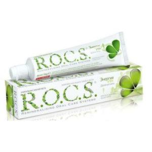 Зубная паста R.O.C.S. Энергия утра со вкусом двойной мяты